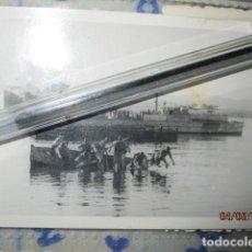 Fotografía antigua: LLEGADA DESEMBARCO FLOTA SOLDADOS LEGION PROCEDENTE GUERRA CIVIL CIRCA MELIILLA FNI 1935 MAYO. Lote 189312198