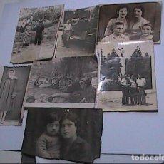 Fotografía antigua: LOTE DE FOTOGRAFIAS ANTIGUA URSS Y EX REPÚBLICAS. 1930-1940.. Lote 189533970