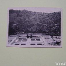 Fotografía antigua: FOTOGRAFÍA ANTIGUA: VALLE DE LOS CAÍDOS (1960) B/N ¡ORIGINAL! ¡COLECCIONISTA!. Lote 189631495
