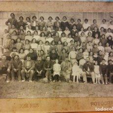 Fotografía antigua: FOTOGRAFÍAS ANTIGUAS. FOTOGRAFÍA GRUPAL IGUALADA. JOSE RIUS FOTÓGRAFO.. Lote 189804620