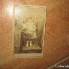 Fotografía antigua: ALICANTINA CON TRAJE FIESTAS FOTO ORIGINAL SIGLO XIX SELLO ALICANTE. Lote 189950037