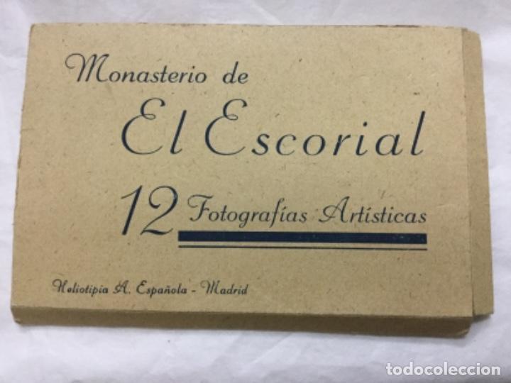 MONASTERIO DE EL ESCORIAL - 12 FOTOGRAFIAS ARTISTICAS - HELIOTIPIA A. ESPAÑOLA - MADRID (Fotografía - Artística)
