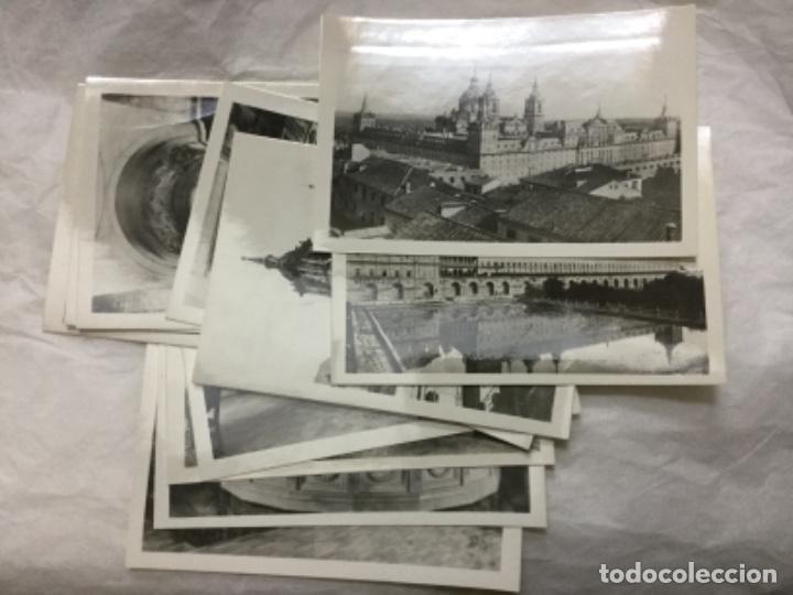 Fotografía antigua: MONASTERIO DE EL ESCORIAL - 12 FOTOGRAFIAS ARTISTICAS - HELIOTIPIA A. ESPAÑOLA - MADRID - Foto 2 - 190112668