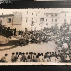 Fotografía antigua: COR EL RAIM LLORENÇ DEL PENEDES TARRAGONA 1950'S. . Lote 190441827