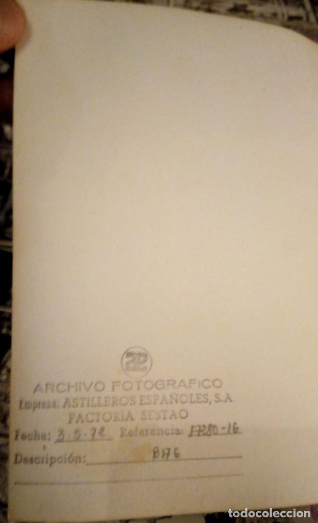 Fotografía antigua: FOTOGRAFIAS ORIGINALES DE ÉPOCA ANTIGUO ASTILLERO NAVAL SESTAO BIZKAIA ARCHIVO FOTOGRÁFICO MUY RARAS - Foto 5 - 190598697