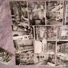 Fotografía antigua: FOTOGRAFIAS ORIGINALES DE ÉPOCA ANTIGUO ASTILLERO NAVAL SESTAO BIZKAIA ARCHIVO FOTOGRÁFICO RARAS!!. Lote 190598697