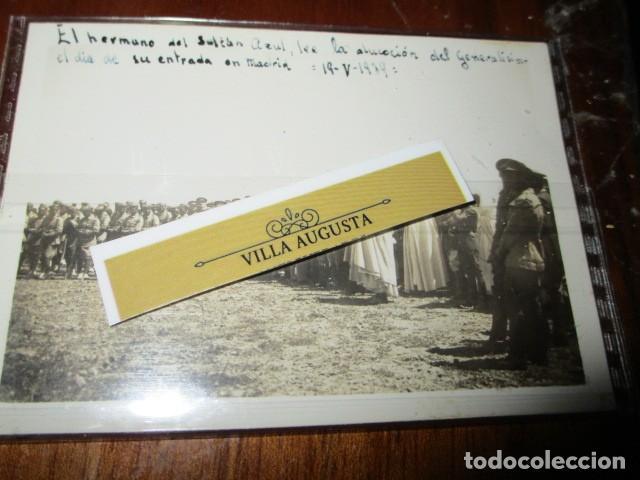 Fotografía antigua: LEGION DE MELILLA 19 V 1939 SULTAN AZUL LEE ALOCUCION DE GENERALISIMO EN SU ENTRADA EN MADRID IFNI - Foto 2 - 190825408