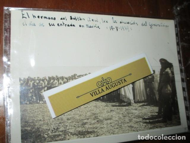 Fotografía antigua: LEGION DE MELILLA 19 V 1939 SULTAN AZUL LEE ALOCUCION DE GENERALISIMO EN SU ENTRADA EN MADRID IFNI - Foto 4 - 190825408