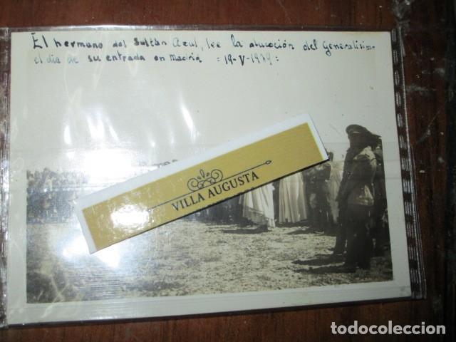 Fotografía antigua: LEGION DE MELILLA 19 V 1939 SULTAN AZUL LEE ALOCUCION DE GENERALISIMO EN SU ENTRADA EN MADRID IFNI - Foto 3 - 190825408