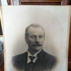 Fotografía antigua: FOTOGRAFIA DE CABALLERO SIGLO XIX. ASTURIAS. OVIEDO. FOTOGRAFO J. DEL FRESNO E HIJO. OVIEDO. Lote 191322338