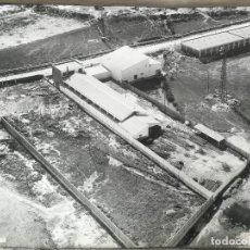 Fotografía antigua: ANTIGUA Y FANTASTICA FOTOGRAFIA AÉREA - 50 X 60 CM - PAISAJES ESPAÑOLES - VITORIA - NAVE - POLIGONO . Lote 191330162