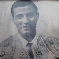 Fotografía antigua: FOTOGRAFÍA DE TORERO / GRAN FORMATO. Lote 191614015