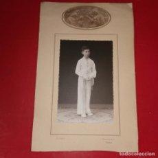 Fotografía antigua: FOTOGRAFIA PRIMERA COMUNION 30X20 CM J. SEGURA PUERTA DEL SOL ,4. Lote 191909763