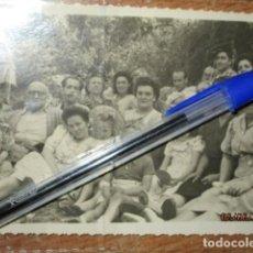 Fotografía antigua: MIRANDA RECUERDO DE SAN JUAN FIESTAS SAN JUANEROS FOTOGRAFO MURO 1947. Lote 191938877