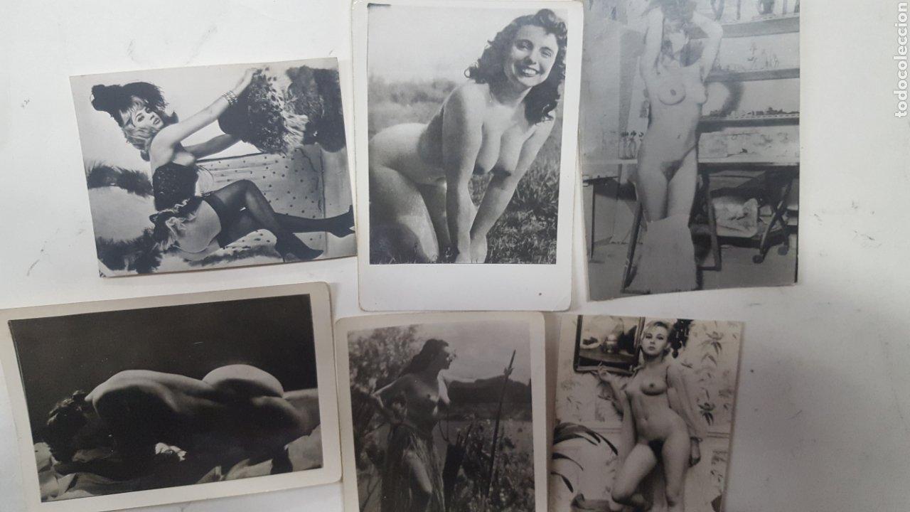Fotografía antigua: EROTICA PORNOGRAFIA: LOTE 17 FOTOGRAFIAS ANTIGUAS DESNUDOS FEMENINOS DE UNOS 10X8 CMS - Foto 3 - 191913457