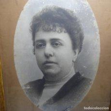 Fotografía antigua: FOTOGRAFÍA RETRATO ANTIGUO.FOTOGRAFO ILEGIBLE.. Lote 192020987