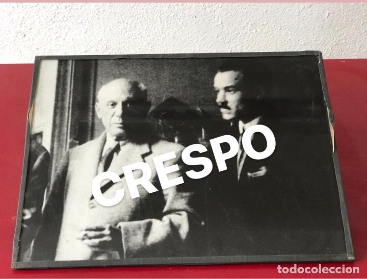 Fotografía antigua: FOTOGRAFÍA DE PABLO PICASSO 1950'S. - Foto 2 - 192032336
