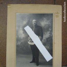 Fotografía antigua: FOTOGRAFÍA CON AUTÓGRAFO O FIRMA DE JOSÉ FRANCOS RODRÍGUEZ, ESCRITOR, POLÍTICO. ALCALDE DE MADRID... Lote 192221005