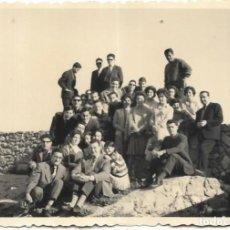 Fotografía antigua: == F783 - FOTOGRAFÍA - GRAN GRUPO DE AMIGOS. Lote 192959410