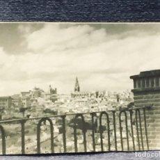 Fotografía antigua: FOTOGRAFIA TOLEDO DESDE VIRGEN DEL VALLE BLANCO NEGRO MITAD S XX 7X10CMS. Lote 193402590