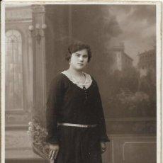 Photographie ancienne: *** FA361 - FOTOGRAFIA - BONITA JOVEN - FOTO JUAN ORTEGA - ALCIRA. Lote 193617176