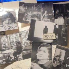 Fotografía antigua: ANTIGUAS FOTOGRAFIAS DE PASTORA IMPERIO , CON MAQUETA PARA EL LIBRO T.V.E. ESTA ES SU VIDA . Lote 193700166