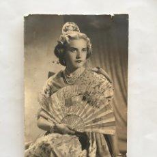 Photographie ancienne: FOTO. GUAPA MUJER VALENCIANA. SAUS. VALENCIA.. Lote 193887240