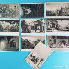 Fotografía antigua: LOTE 10 FOTOS BELENES DE 1940 A 1947, ARCHIVO FOTOGRAFICO ASOCIACION PESEBRISTAS DE BARCELONA, BELEN. Lote 193940232