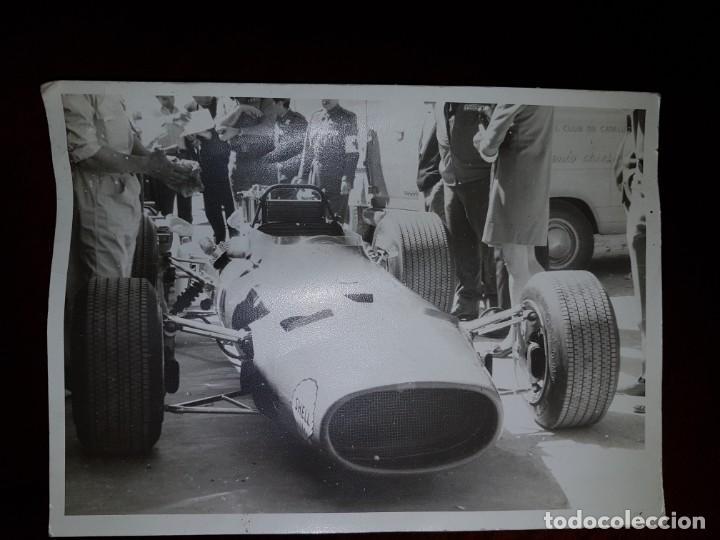 Fotografía antigua: Fórmula 1 - 3 fotografías originales de los años 60 - Foto 3 - 194109978
