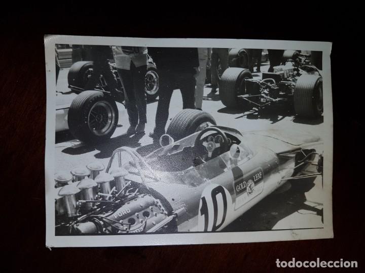Fotografía antigua: Fórmula 1 - 3 fotografías originales de los años 60 - Foto 5 - 194109978