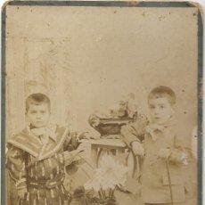 Fotografía antigua: FOTOGRAFÍA NIÑOS PRINCIPIOS DE SIGLO XX - LA FOTOGRAFÍA MODERNA DE JOSÉ PÉREZ - VALENCIA. Lote 194229657