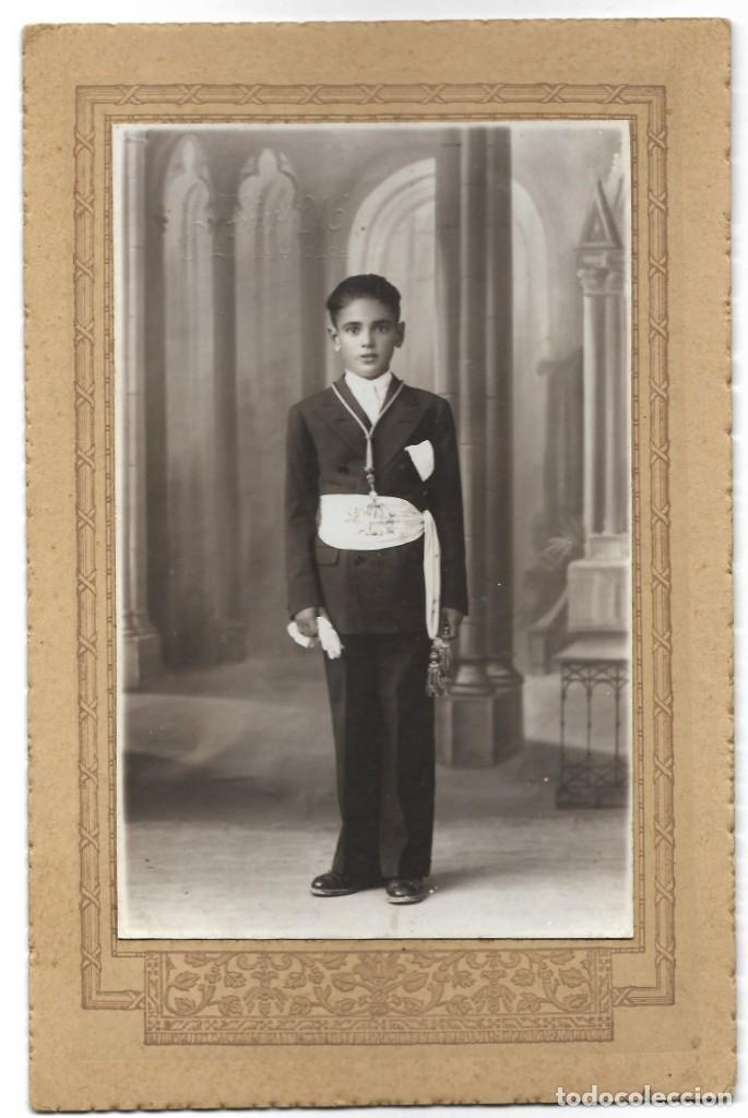 BONITA FOTOGRAFÍA DE COMUNIÓN DE UN NIÑO - FOTO ART MARTÍNEZ HNOS. - CULLERA (VALENCIA) (Fotografía - Artística)