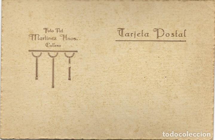 Fotografía antigua: BONITA FOTOGRAFÍA DE COMUNIÓN DE UN NIÑO - FOTO ART MARTÍNEZ HNOS. - CULLERA (VALENCIA) - Foto 2 - 194230481