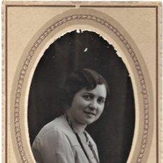Fotografía antigua: BONITA FOTOGRAFÍA DE UNA CHICA - MODERN STUDI MATARREDONA - ALCOY (ALICANTE). Lote 194230860