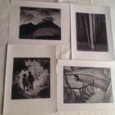 Fotografía antigua: REPRODUCCIONES FOTOGRAFÍAS ANSEL ADAMS DE LATINSTOCK/CORBIS Y W.E. SMITH/H.CARTIER DE MAGNUM PHOTOS. Lote 194231792