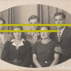 Fotografía antigua: FOTOGRAFIA FAMILIA FOTOGRAFO STUDIO PACO - VILLAFRANCA DEL PANADES BARCELONA - -R-8. Lote 194236988