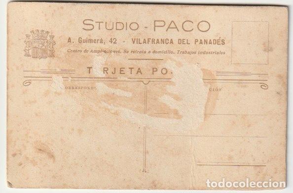 Fotografía antigua: FOTOGRAFIA FAMILIA FOTOGRAFO STUDIO PACO - VILLAFRANCA DEL PANADES BARCELONA - -R-8 - Foto 2 - 194236988