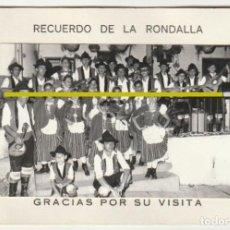 Fotografía antigua: BARBACOA ROMANTICA RECUERDO RONDALLA PUERTO DE LA CRUZ TENERIFE SALON LIDO SAN TELMO -R-8. Lote 194237190
