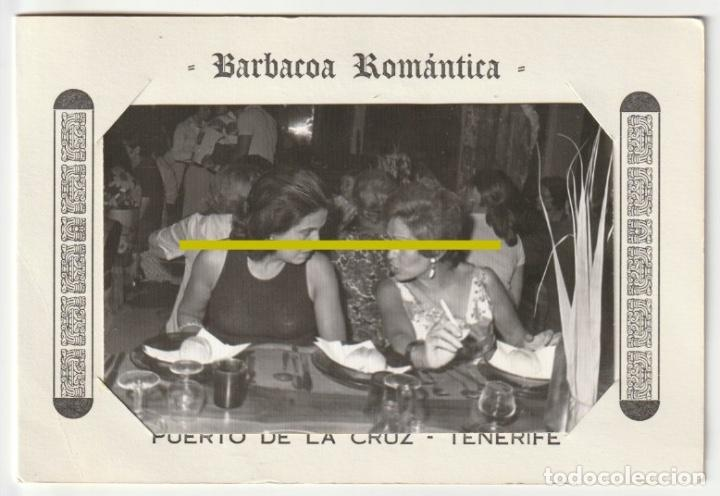 Fotografía antigua: BARBACOA ROMANTICA RECUERDO RONDALLA PUERTO DE LA CRUZ TENERIFE SALON LIDO SAN TELMO -R-8 - Foto 2 - 194237190