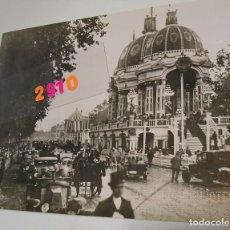 Fotografía antigua: VALENCIA ANTIGUA FOTOS LA CIUDAD DE VALENCIA AÑOS 20 FOTO BARBERA MASIP 18 X 24. Lote 194247936