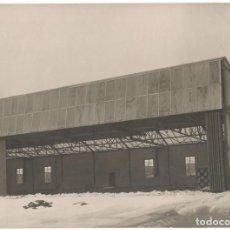 Fotografía antigua: FOTOGRAFÍA - NAVE O HANGAR - BERLÍN - ALEMANIA - BREEST & CO - CIRCA 1920. Lote 194249021
