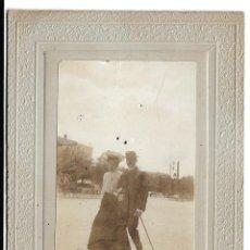 Fotografía antigua: FOTOGRAFIA ANTIGUA - UN MATRIMONIO - FOTO - DE PRINCIPIOS DEL SIGLO XX. Lote 194263906