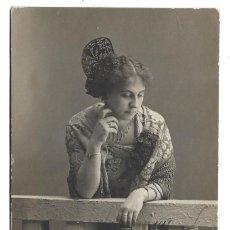 Fotografía antigua: FOTOGRAFIA ANTIGUA - UNA DAMA - FOTO - ILDEMON - AVELLANOS, 3 - BURGOS - DE 1.914. Lote 194264085