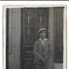 Fotografía antigua: FOTOGRAFIA ANTIGUA - UN CABALLERO - FOTO - . Lote 194272921