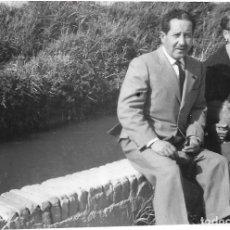 Fotografía antigua: == GG122 - FOTOGRAFIA - PAREJA DE SEÑORES. Lote 194296048