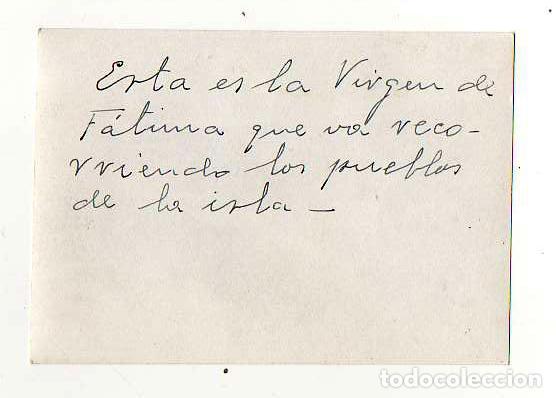 Fotografía antigua: LA VIRGEN DE FÁTIMA. PROCESION EN LAS PALMAS DE GRAN CANARIA. - Foto 2 - 194345351