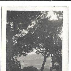 Fotografía antigua: FOTOGRAFIA ANTIGUA - UNA MADRE CON SU HIJA Y NIÑERA EN EL PARUE-. Lote 194368375
