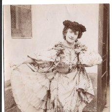 Fotografía antigua: FOTOGRAFIA ANTIGUA - UNA DAMA DISFRAZADA . Lote 194371395