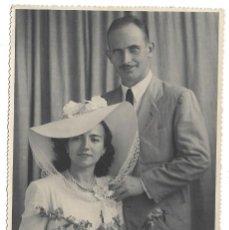 Fotografía antigua: FOTOGRAFIA ANTIGUA - DOS HERMANOS - FOTO - AUGUSTO - VALENCIA,23 -SANTA ISABEL -. Lote 194390945
