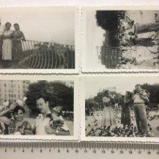 Fotografía antigua: FOTOS. TIBIDABO Y PLAZA DE CATALUÑA. FOTÓGRAFO?.. Lote 194490982